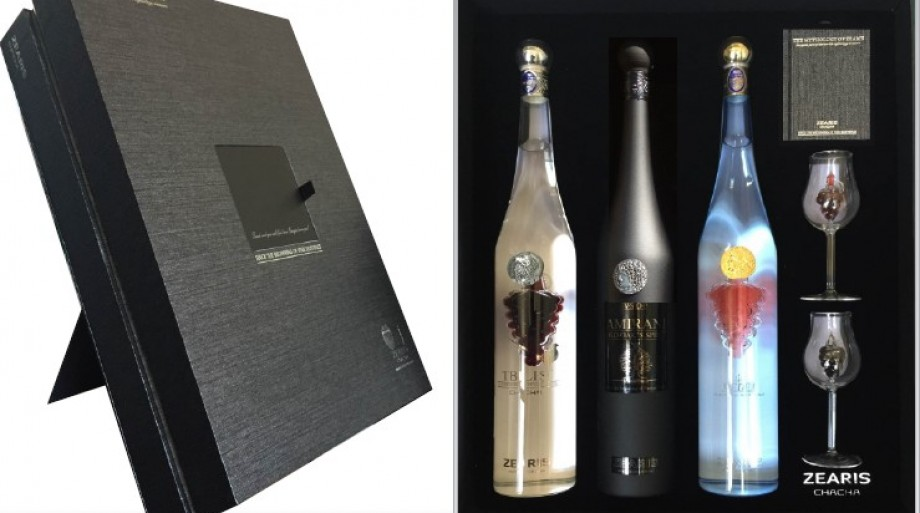 Three Georgian legends, which became the inspiration of ZEARIS and the beverage only for women